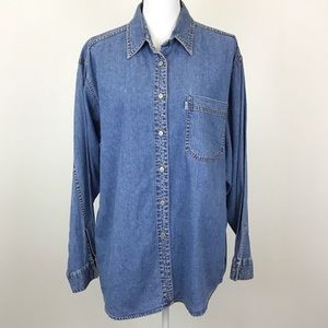 Vintage Levi's Red Tab Jeans Shirt Button Down